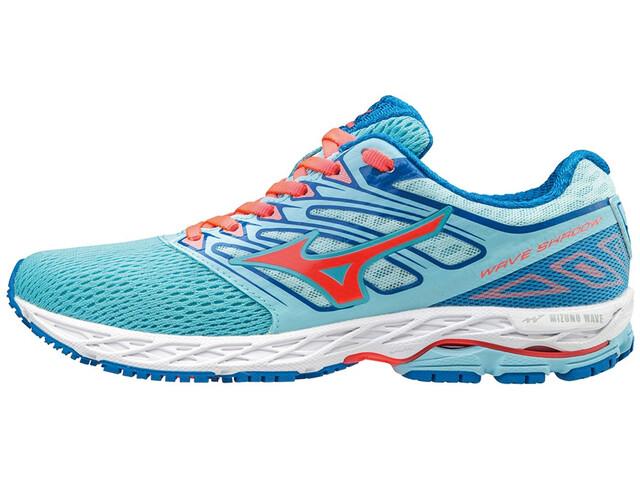 Mizuno Wave Shadow Buty do biegania Kobiety niebieski